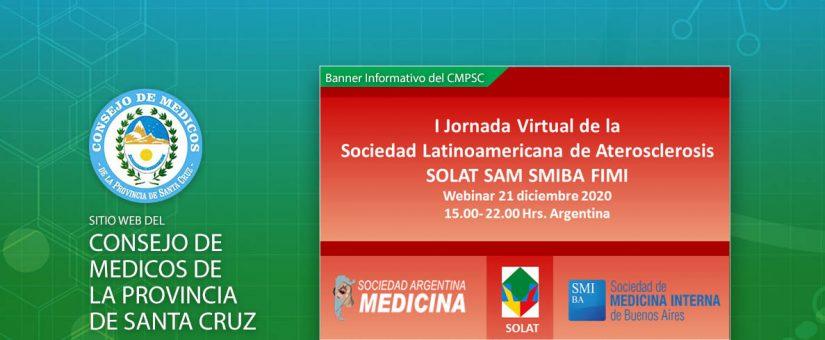 I Jornada Virtual pos-congreso de la Sociedad Latinoamericana de Aterosclerosis