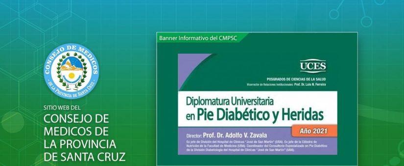 UCES – Diplomatura Universitaria en Pie Diabético y Heridas