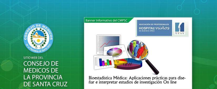 Bioestadística Médica: Aplicaciones prácticas para diseñar e interpretar estudios de investigación On line